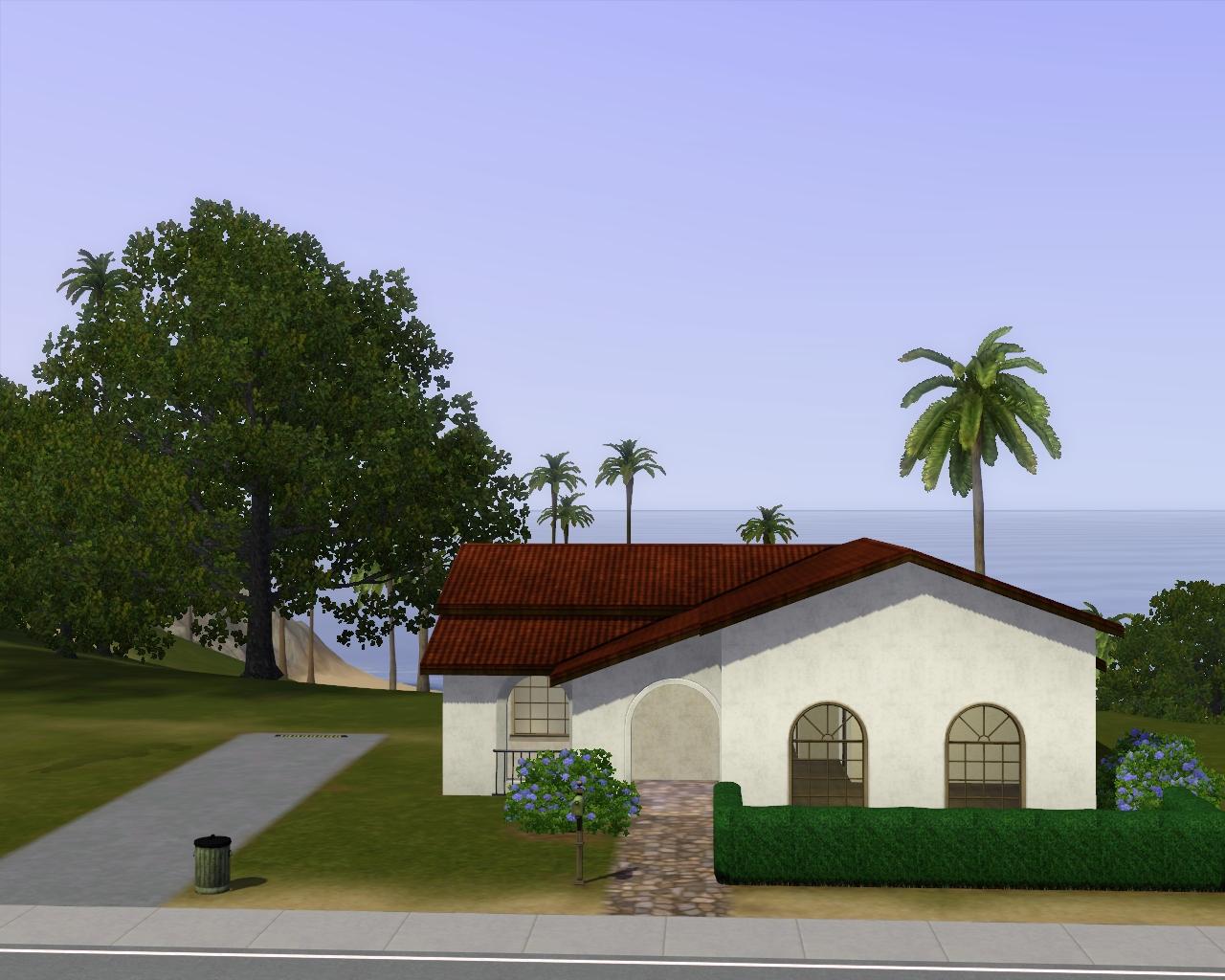 Summer 39 s little sims 3 garden starlight shores the sims for Minimalist house list