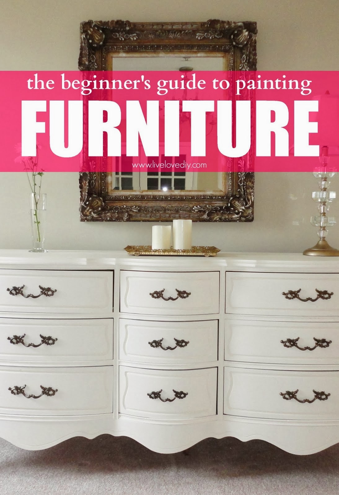 DIY Painting Old Furniture