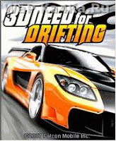 3D Need For Drifting [Java Game] For Mobile In 128x160, 176x208, 176,220, 240x320
