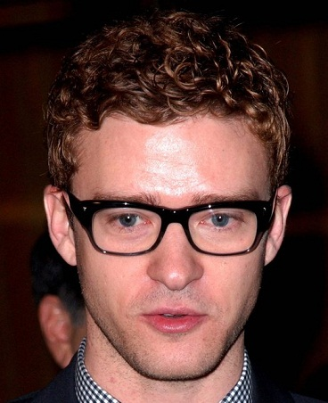 Spectacles For Oval Face Male : Justin Timberlake Oval Face Shape Eyeglasses