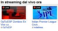 Youtube Live in diretta