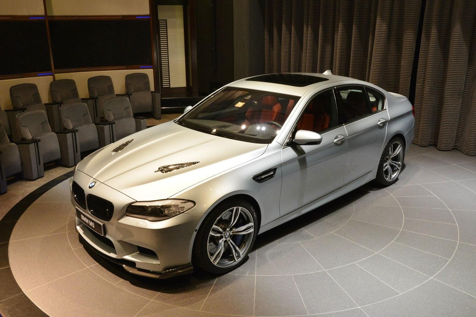 BMW Abu Dhabis Customized M5 M4 Cabrio and X5 50i