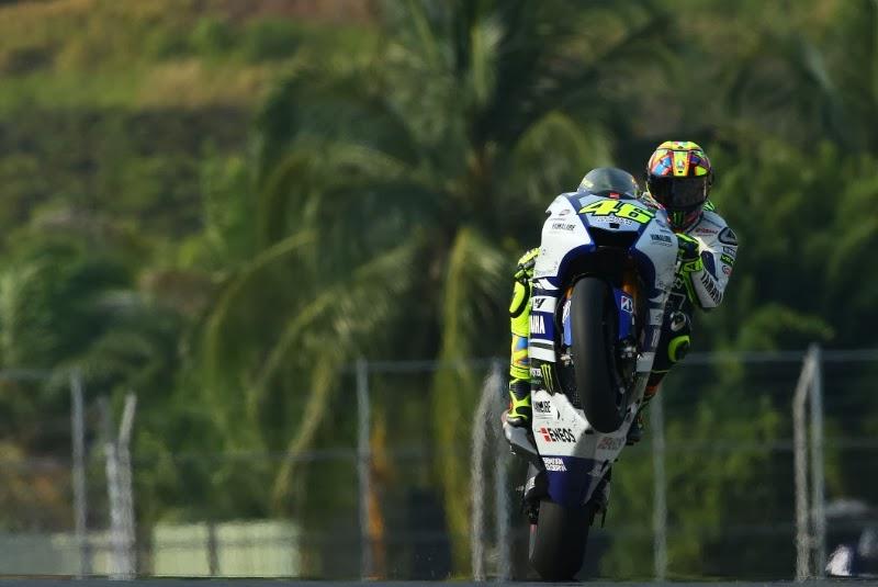 Valentino Rossi Second Fastest in Malaysia