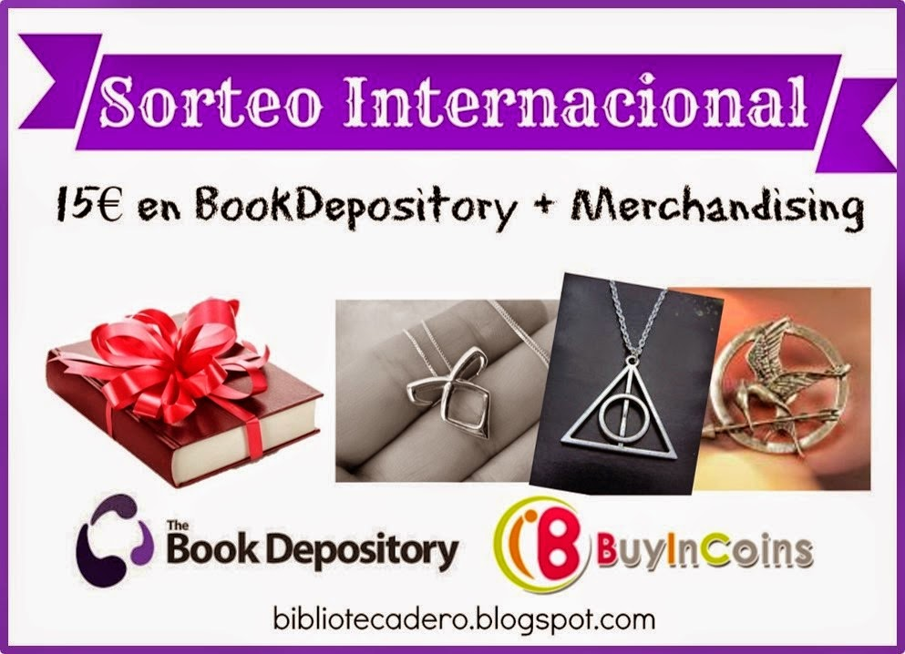 SORTEO INTERNACIONAL: 15€ BookDepository + Merchandising