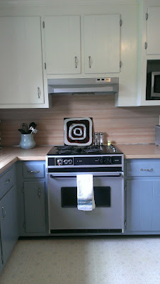 Painted Kitchen Appliances