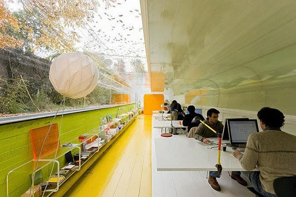 Selgas Cano Architecture Office Interior Design Ideas 2