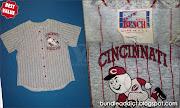 (BA2939) MLB Cincinnati Reds Baseball Jersey