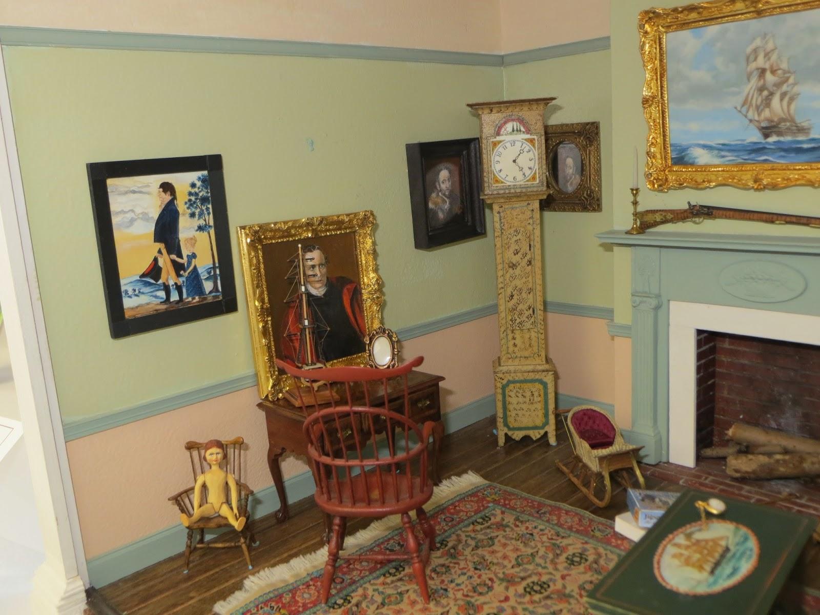 The Peripatetic Miniaturist 2013 Castine Exhibits