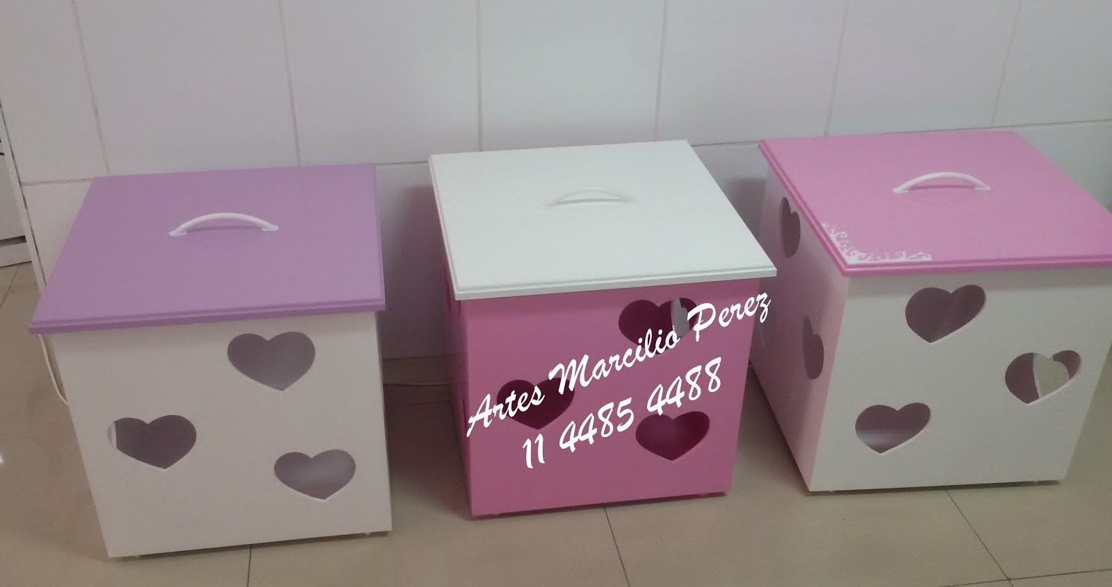 Lançamento caixas de brinquedos 50x50 por apenas R$ 110,00 cada