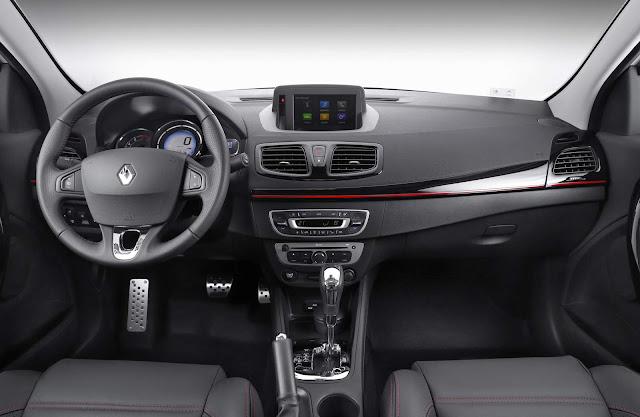 Novo Renault Fluence GT Line 2016 - interior
