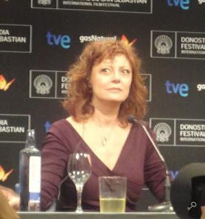 Susan Sarandon - Rueda de prensa de El fraude (Arbitrage)