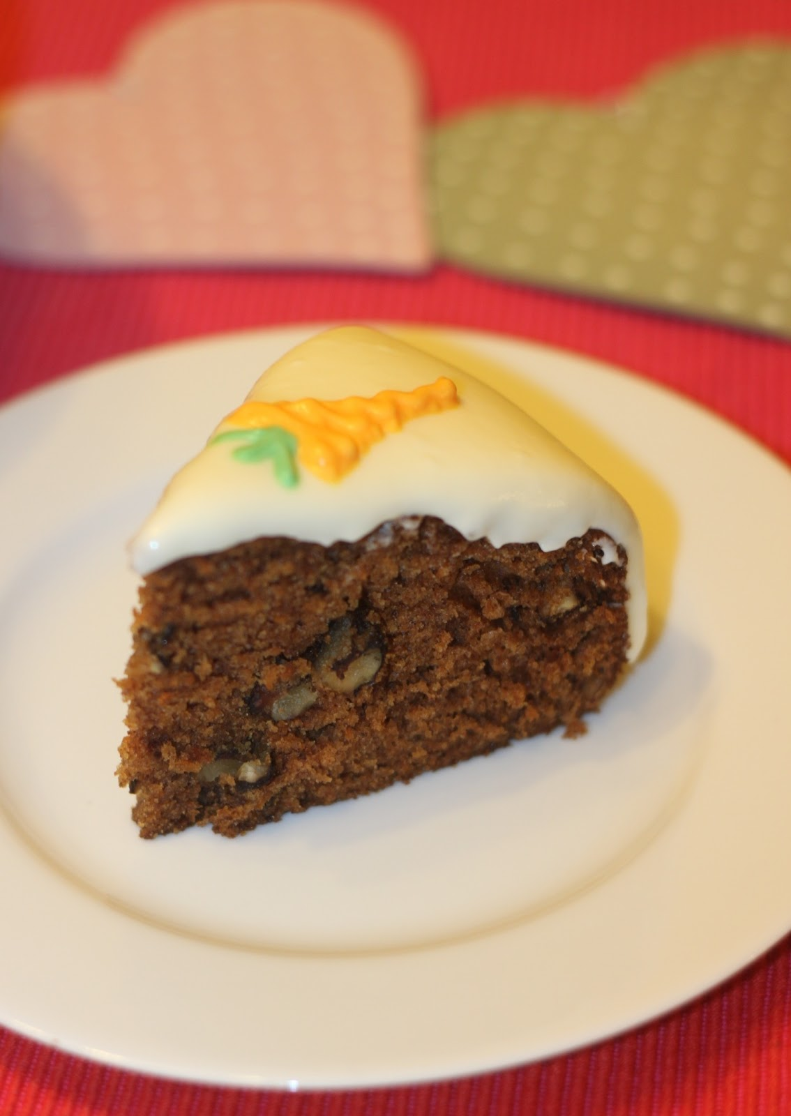 love by baking her a cake this carrot cake is always welcome at ...