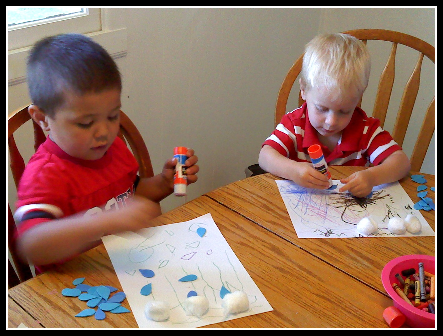 Elijah Prays for Rain Craft http://embracinglife-rose.blogspot.com/2011/06/elijah-prays.html