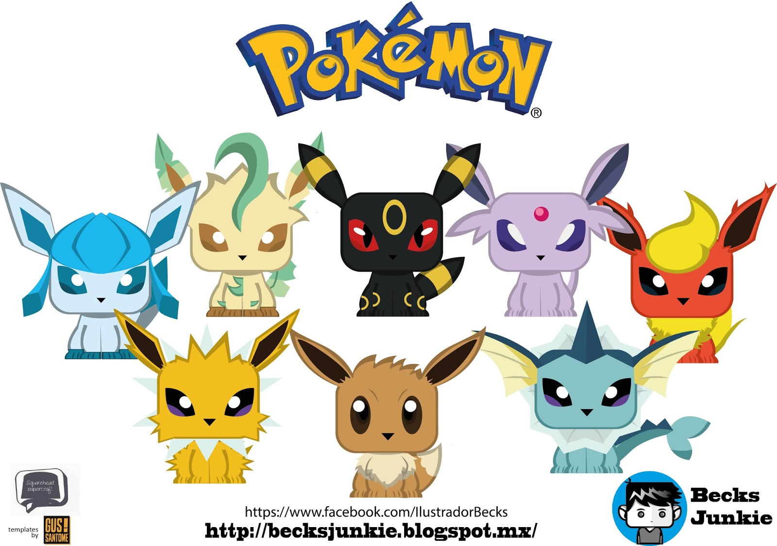 becks junkie eevee evolutions