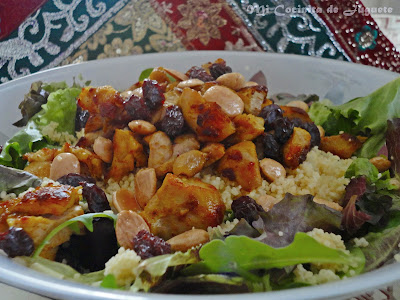 Ensalada Marroquí de Pollo y Cous Cous