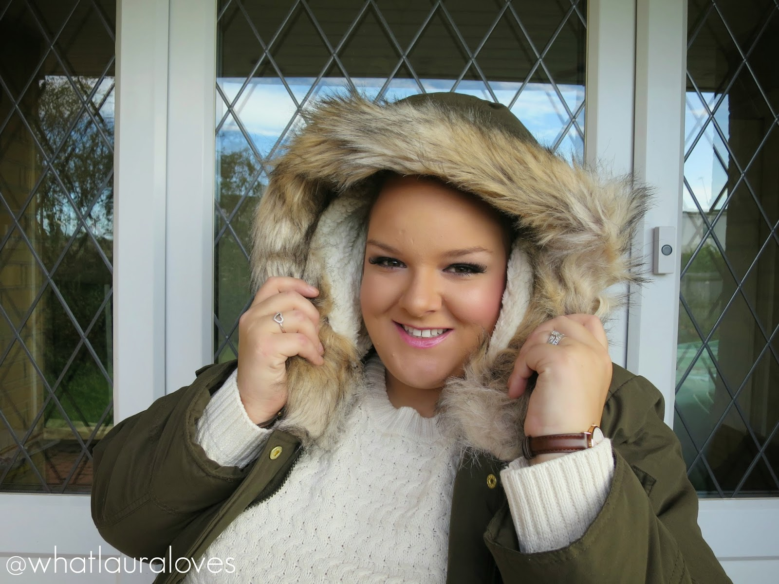 Plus Size Fashion Haul 2015 A khaki parka is very much a