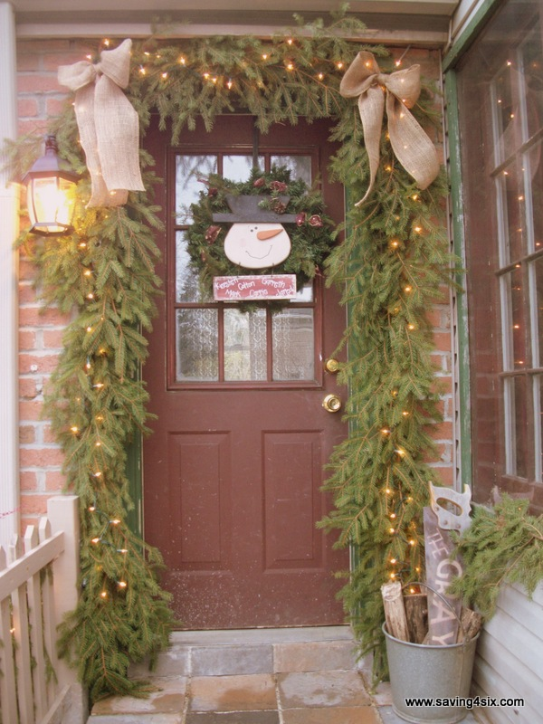 My Christmas Porch 2012