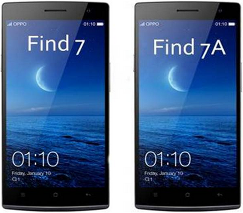 Oppo Find 7, Find 7a Android