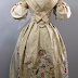 A Very Special Embroidered Wedding Dress, 1734