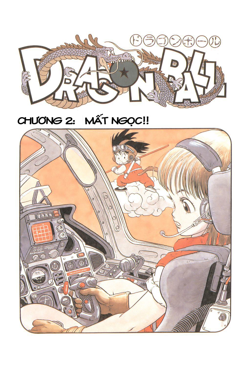 xem truyen moi - Dragon Ball Bản Vip - Bản Đẹp Nguyên Gốc Chap 2