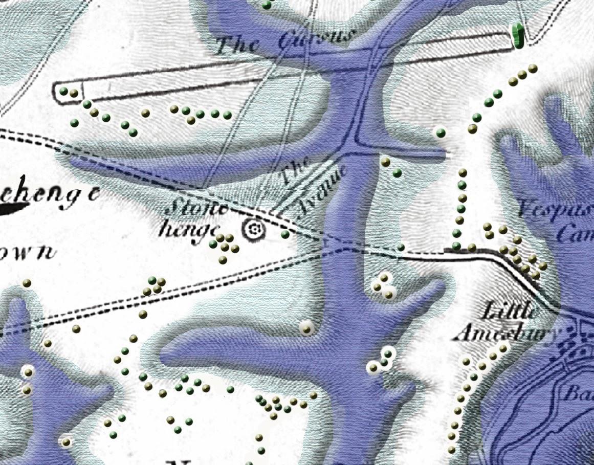 Stonehenge, Post Glacial flooding Map