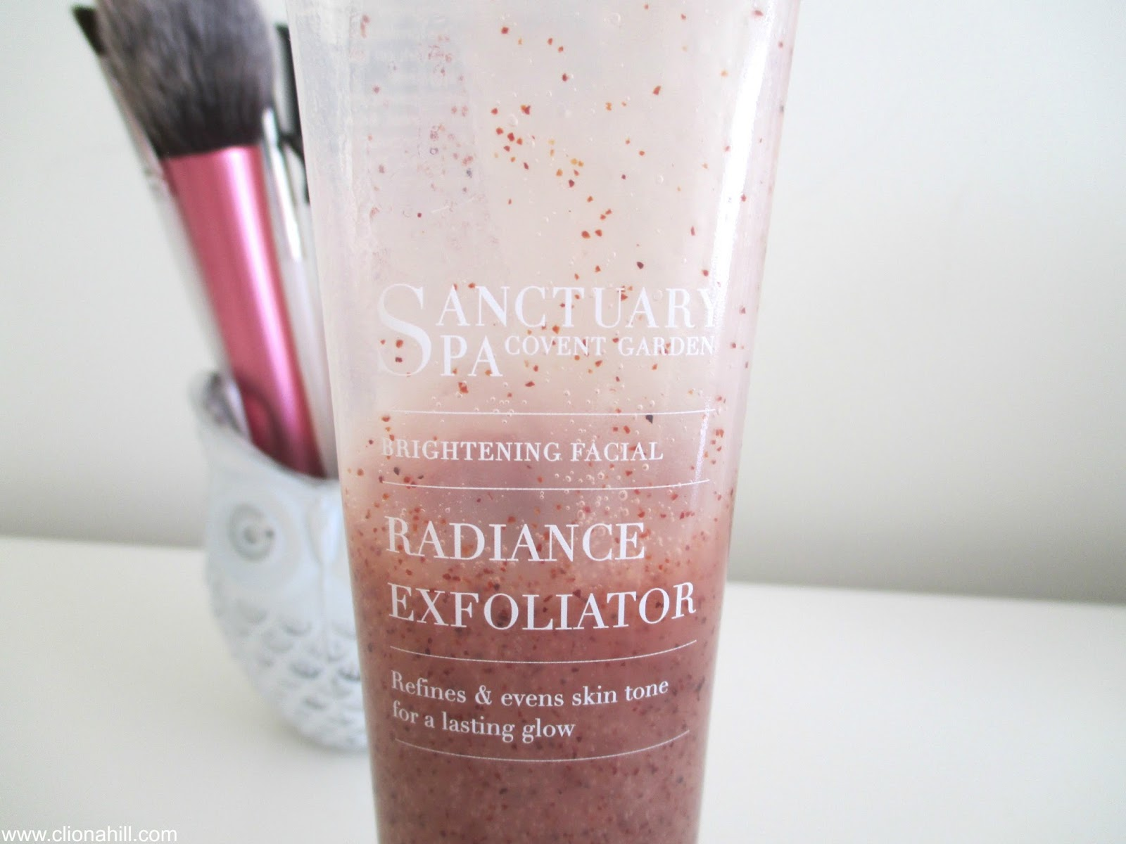 Sanctuary spa radiance facial exfoliator
