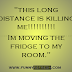"Awesome picture quote""this long distance is killing me!!!  Im moving ... - About Laziness"