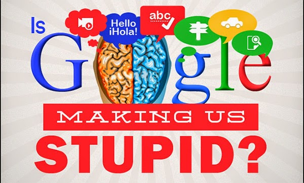 response is google making us stupid No, google is not making us stupid what google and the web are doing is helping us to learn through a rapid exchange of ideas in a social setting google is, indeed, making us smarter as we re-discover new ways to learn.