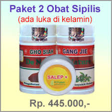obat sipilis sudah ada luka