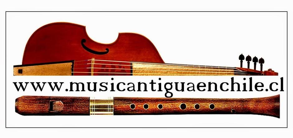 Música Antigua en Chile