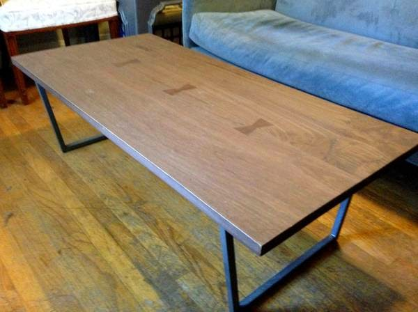 Thou Shall Craigslist - Cb2 tux coffee table