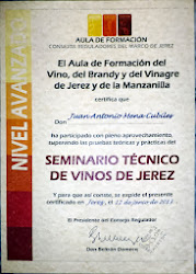 SEMINARIO TÉCNICO DE VINOS DE JEREZ