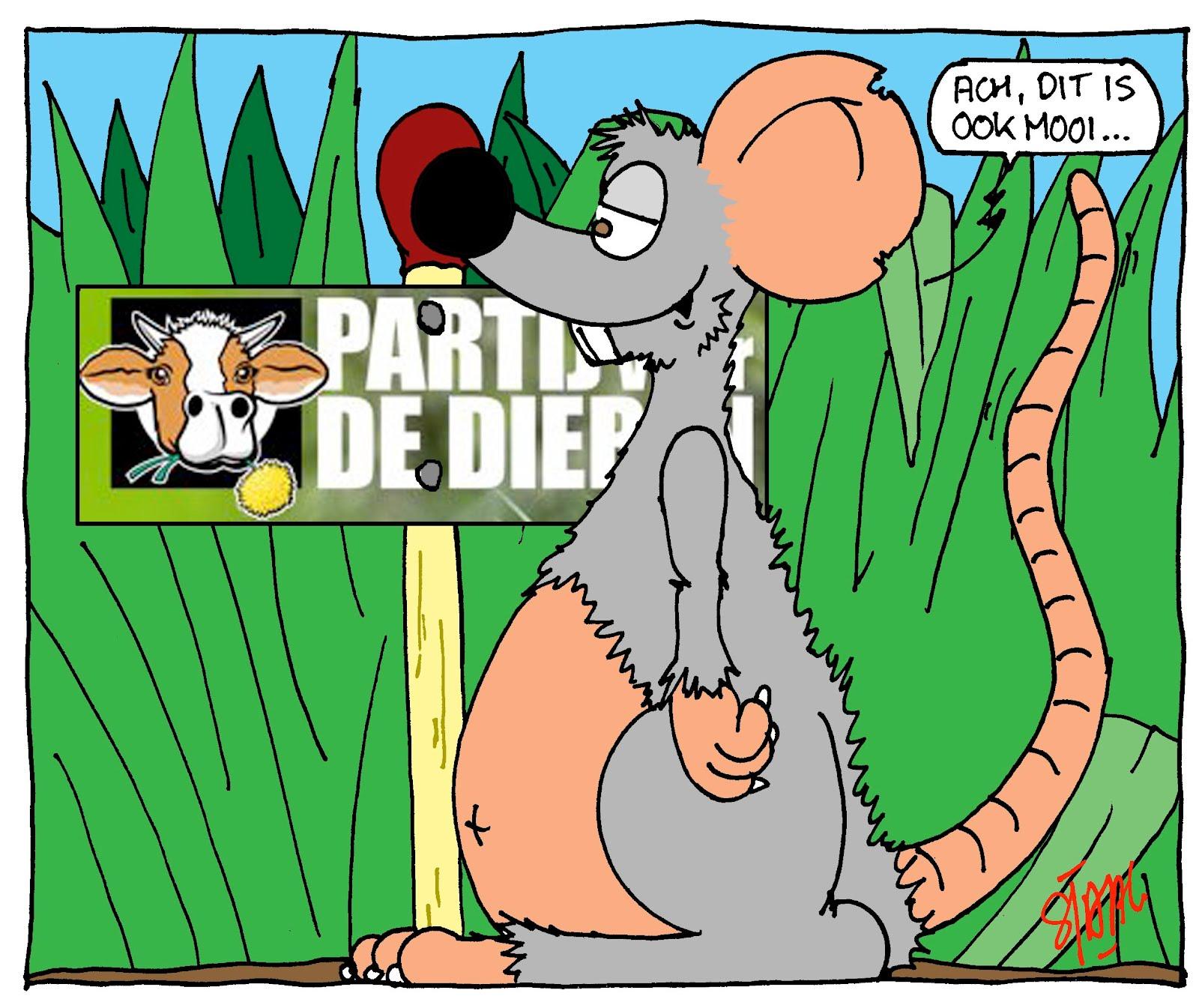 Partij voor de dieren moet megaborden verwijderen