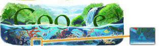 svevideće oko na Google logu