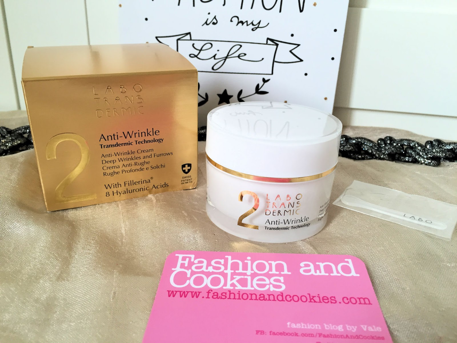 Labo Suisse Transdermic anti-wrinkle cream crema antirughe review on Fashion and Cookies beauty blog, beauty blogger