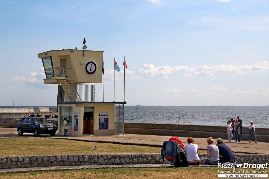 Wakacyjna informacja turystyczna w Gdyni