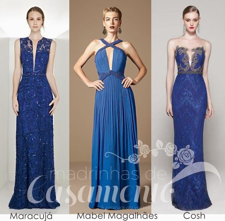 Acessorios para madrinha de casamento vestido azul
