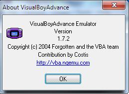 Visual Boy Advance 1.7.2 Emulator Game GBA Untuk PC