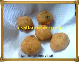 Kadala Paruppu Vadai