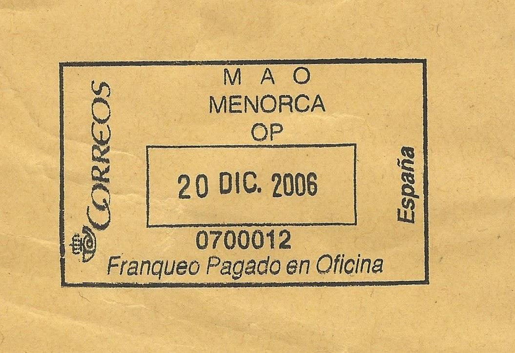 Col lecciomania blog oficial de febasofi noticies for Oficina internacional de destino correos