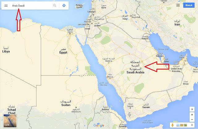 Bukti Bahwa Kiamat Sudah Dekat dan Mulai Tampak di Arab Saudi, Inilah Penampakan yang Diperlihatkan dari Google Maps