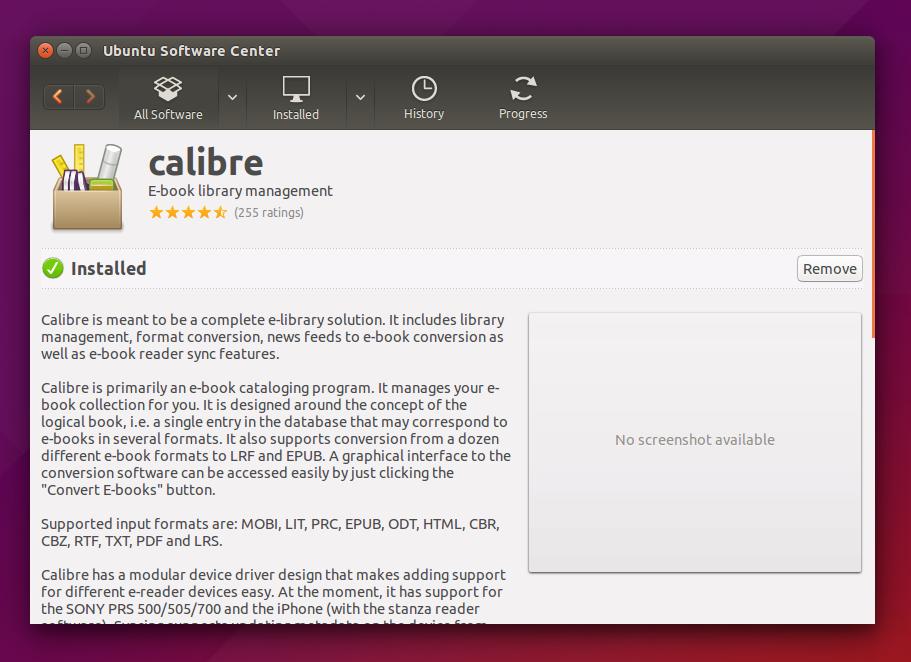 azw3 to pdf ubuntu
