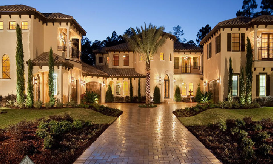 Tricked out mansions showcasing luxury houses amazing for Big beautiful mansions