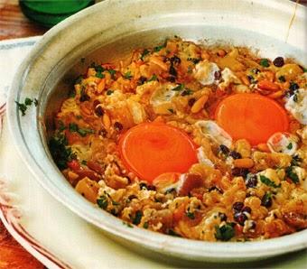 Patlıcanlı Yumurta Tarifi Yapımı