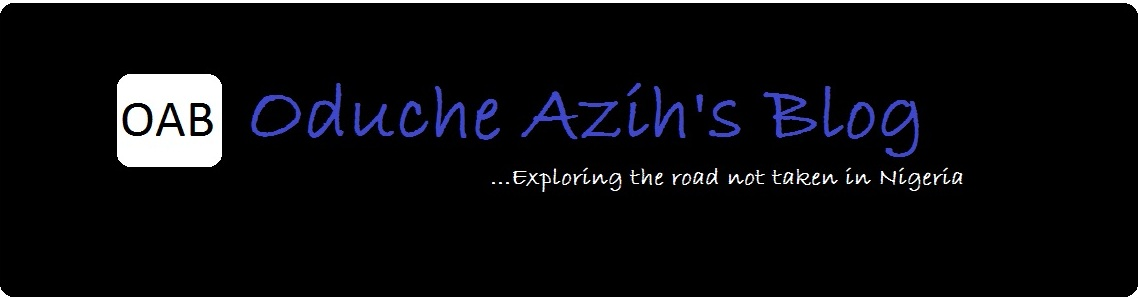 .....Oduche Azih's Blog.....