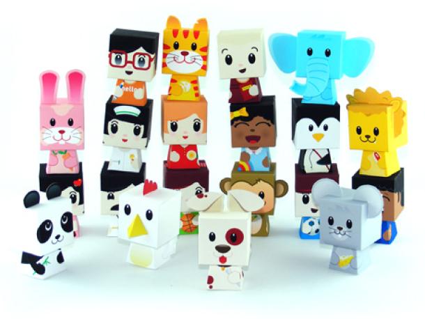 brinquedos bonecos de papel para imprimir e montar animais pessoas educação infantil atividade