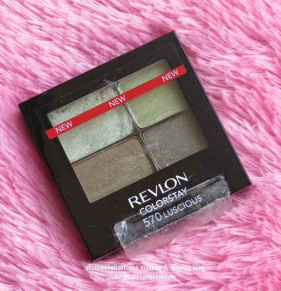 Revlon Colorstay 16 hour Eye Shadow 570 Luscious Review, Pictures & Swatches, Indian Makeup and Beauty blog, Revlon 16 hour colorstay eyeshadow review and swatches, Revlon makeup review india, Beauty blogger, Indian beauty blogger, Drugstore makeup, Top beauty blogs in India, Makeup and beauty blogger, Eye maeup look with revlon colorstay 16 hour eyeshadow quad, Long lasting makeup, Indian makeup blogger