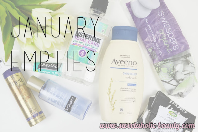 January Empties - Sweetaholic Beauty