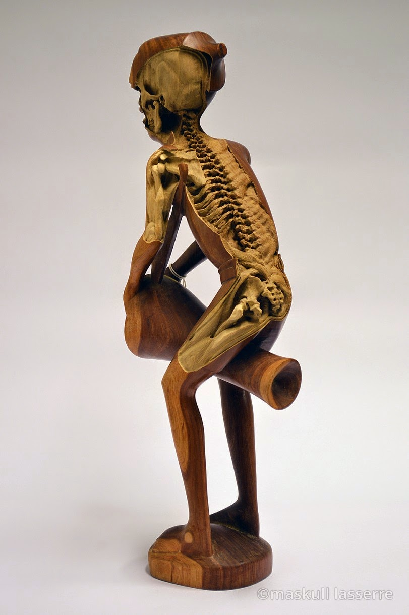 Simply creative re carving sculpture by maskull lasserre