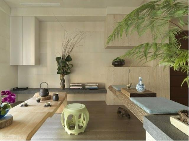 Minimalismus in Holz und Pastell